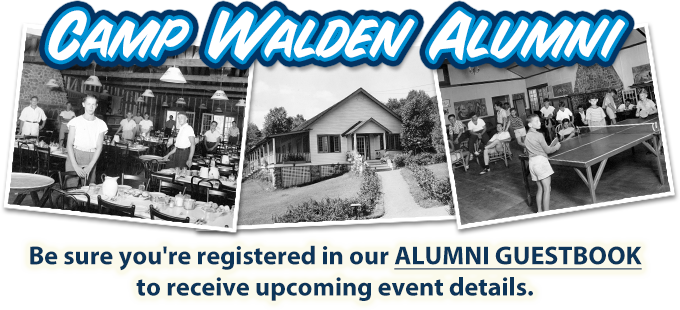 Be sure you're registered in our Alumni Guestbook to receive upcoming event details.