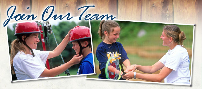 Staff Positions at Camp Walden Co-Ed Summer Overnight Camp