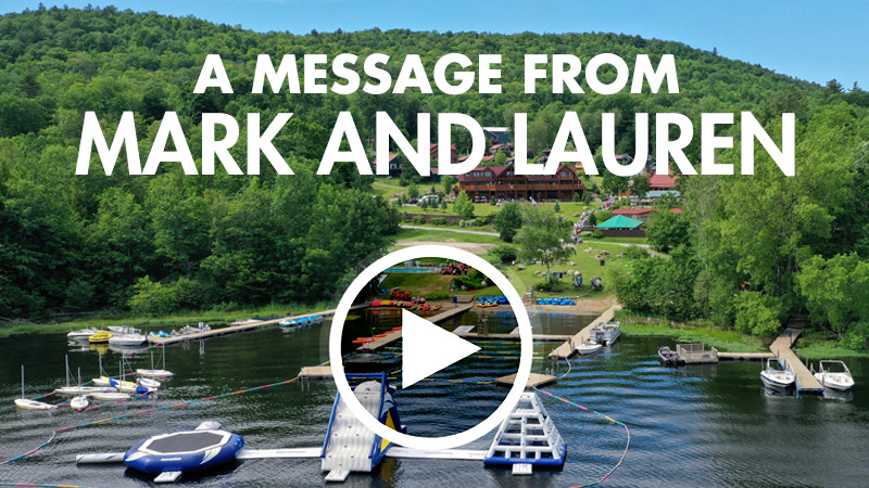 A Message From Mark and Lauren