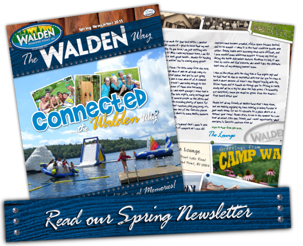 Camp Walden Spring Newsletter 2015