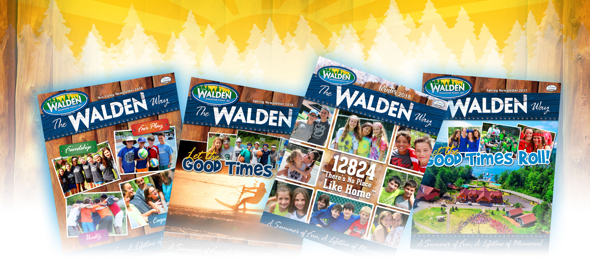 The Walden Way Summer Camp Newsletters