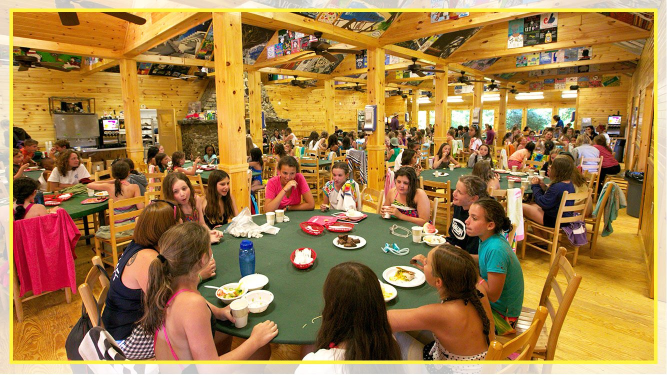 summer camp facilities dining hall